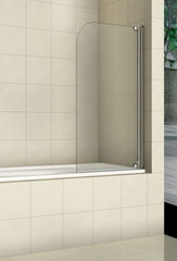 Стеклянная шторка на ванну Welt-Wasser WW 100T1 80 см