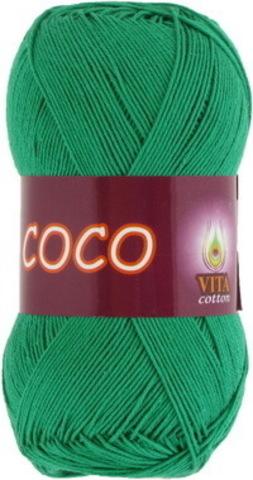 Пряжа Coco (Vita cotton) 4311 Мятный
