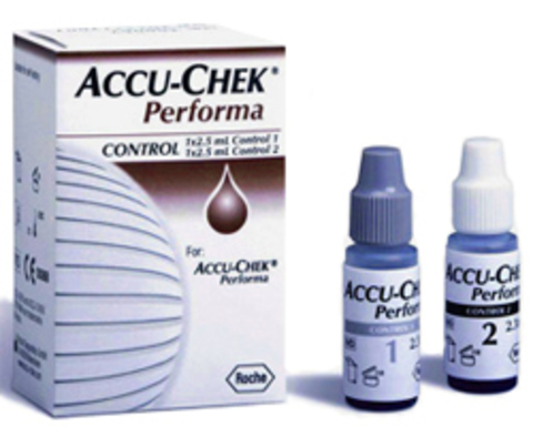 Контрольный раствор Акку-чек Перформа (Accu-Chek Performa)