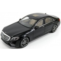 Коллекционная модель Mercedes-Benz W222 S-Class Uplifting 2017 Obsidian Black Metallic
