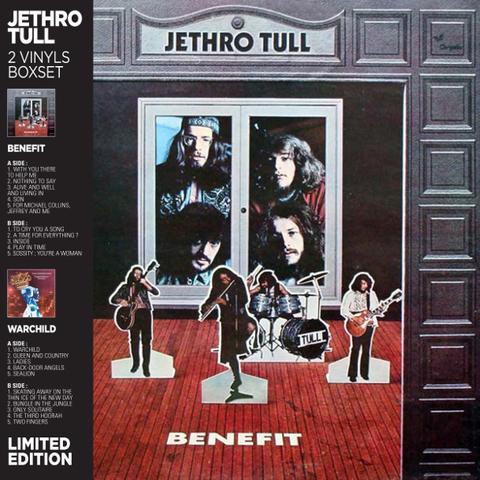 Jethro Tull / 2 Vinyls Boxset: Benefit & Warchild (2LP)