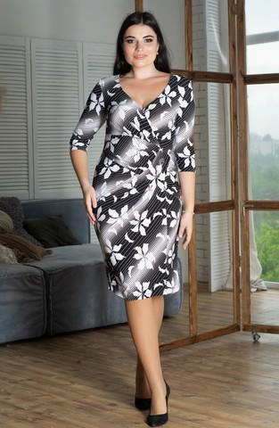 Инга. Эффектное платье больших размеров