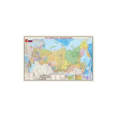 Карта РФ. Полит.-админ. 1:7М лам., шт ОСН1224012
