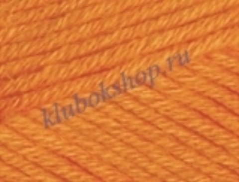 Пряжа Alize Cotton gold PLUS 487 оранжевый
