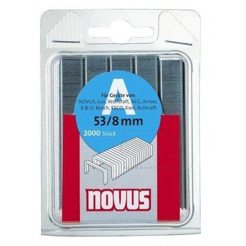 Скобы 53/8 NOVUS (2000шт)