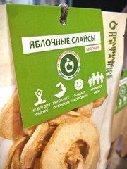 Яблочные слайсы мягкие без кожуры 50 грамм от eco-apple.ru