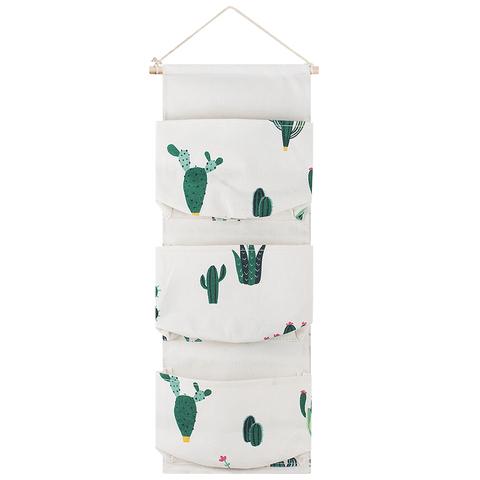 Вешалка с кармашками Cacti