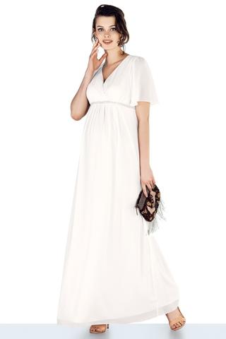 Платье для беременных 10472 белый