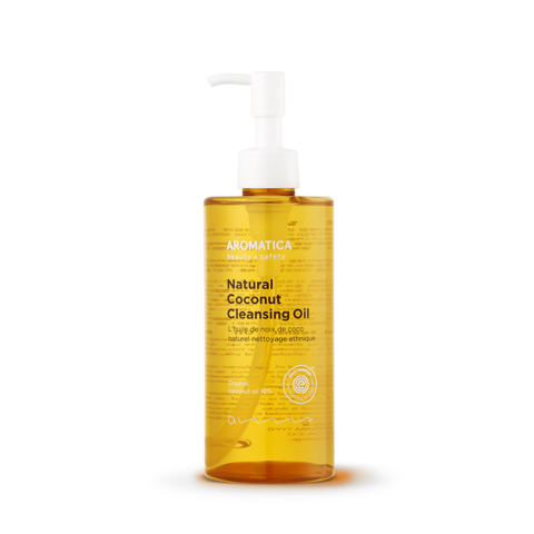 Гидрофильное масло для снятия макияжа, 300 мл / Aromatica Natural Coconut Cleansing Oil