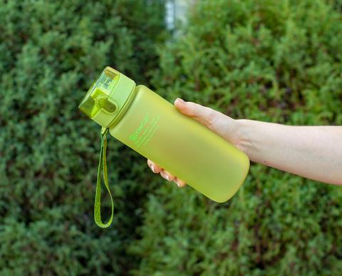 Бутылка POWCAN - 800 мл. матовая - Салатовый