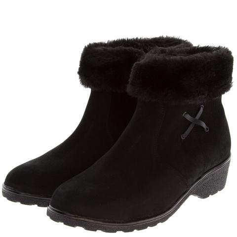 574401 Полусапожки женские черные. КупиРазмер — обувь больших размеров марки Делфино