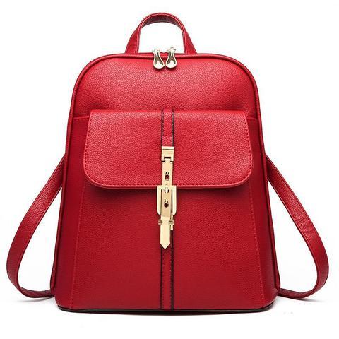 Женский рюкзак 6588 Red