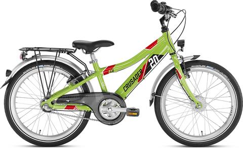 Двухколесный велосипед Puky Crusader 20-3 Alu салатовый