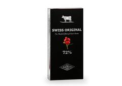 Горький шоколад с кусочками клюквы  Swiss Original, 100г