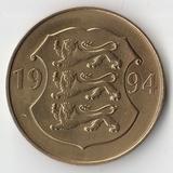 1994 P1246 Эстония 5 крон