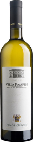 Вино Villa Pampini, Pinot Grigio, Venezie IGT, 2016, 0.75 л
