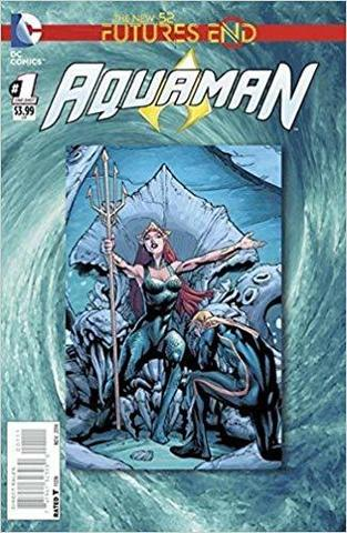 Futures End Aquaman Lenticular Cover