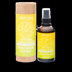 Флоральная вода для лица и тела Лимонный сорбет, 100ml, TМ Levrana