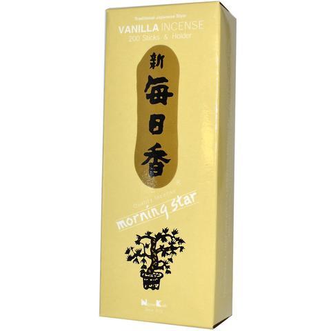 Японские благовония Morning Star Vanilla 200 шт