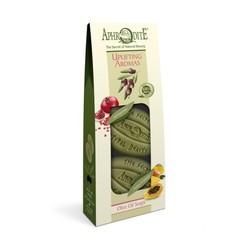 Набор оливкового мыла Бодрящие ароматы 2 шт