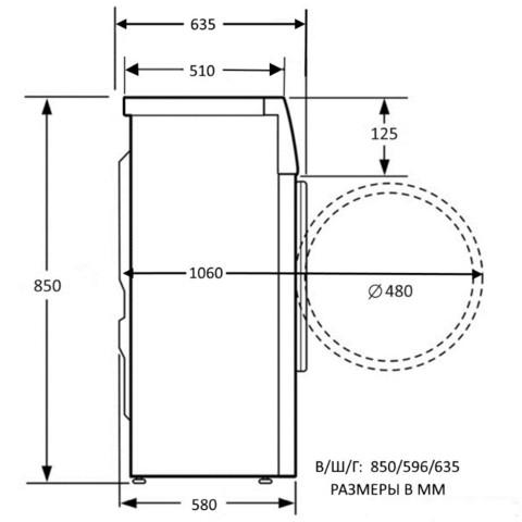 Стиральная машина Kuppersberg WS 60100