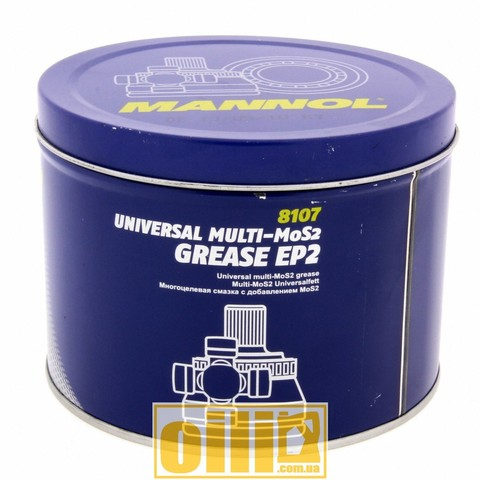 Mannol 8107 EP-2 Multi-MoS2 GREASE 800g