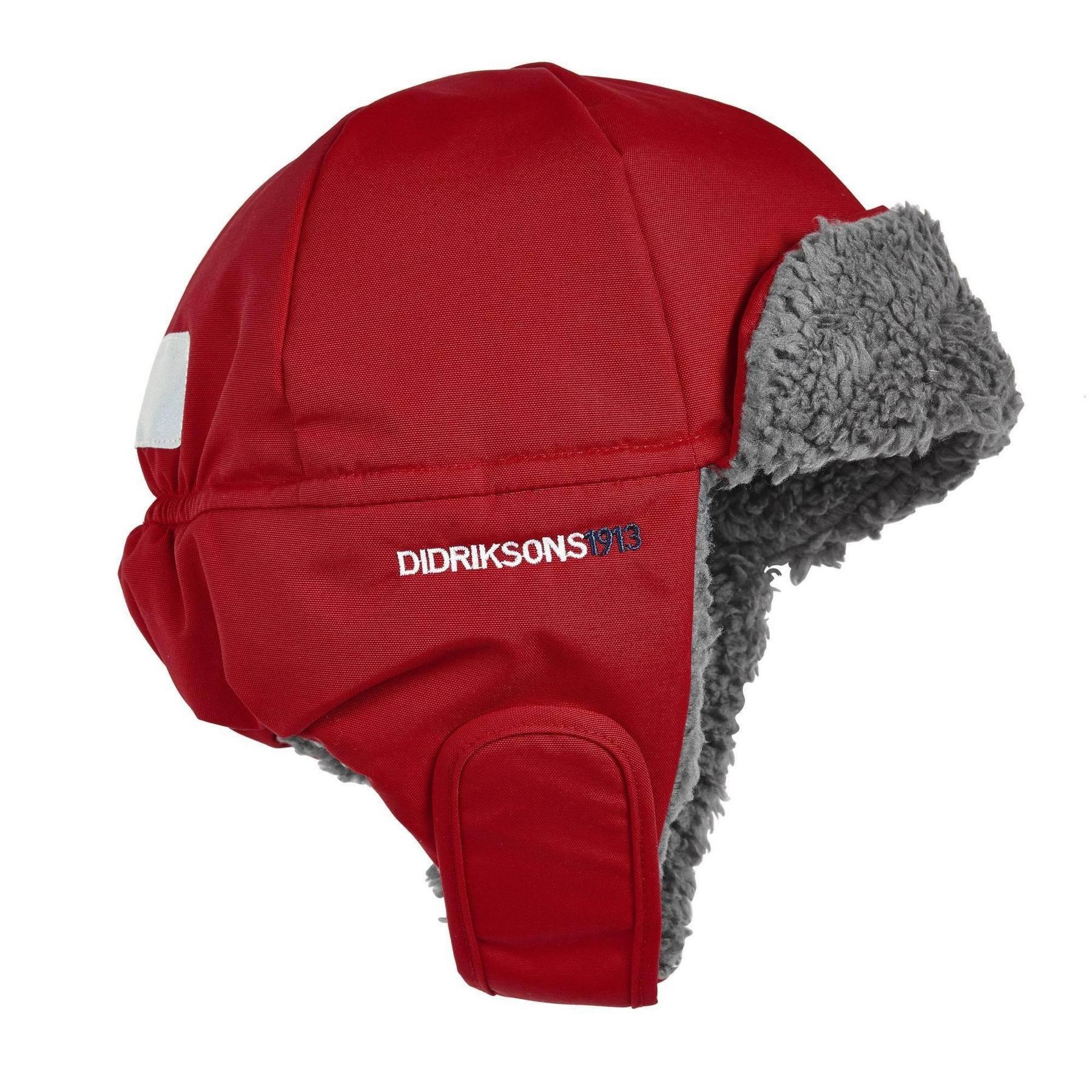 Шапка детская Didriksons Biggles - Red (красный)