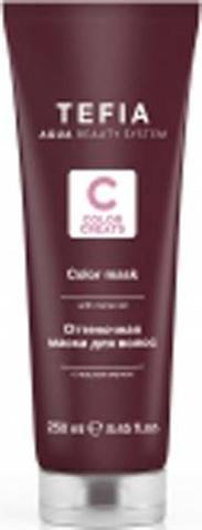 Оттеночная маска для волос с маслом монои Красная,  Tefia Color, 250 мл.