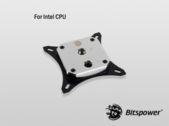 Bitspower CPU Block Summit EF (Intel) (Brass Nickel Plated Version)