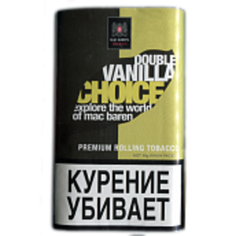 Табак M.B.сигарет. DOUBLE VANILLA CHOICE (p40gr)