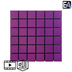 ECHO BLACK Акустическая панель Echoton Chess Acoustic