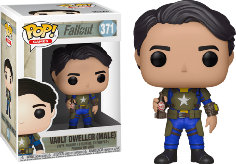 Фигурка Funko Pop! Games: Fallout - Vault Dweller Male