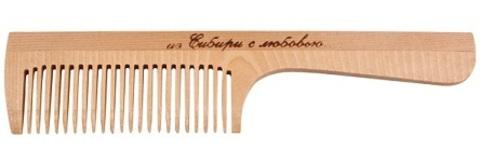 Расчёска, с ручкой, частый зуб