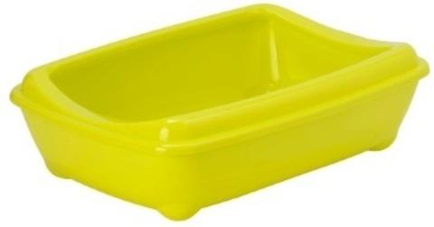 Moderna туалет-лоток Arist-o-tray M c бортом 43x30x12h см, желтый