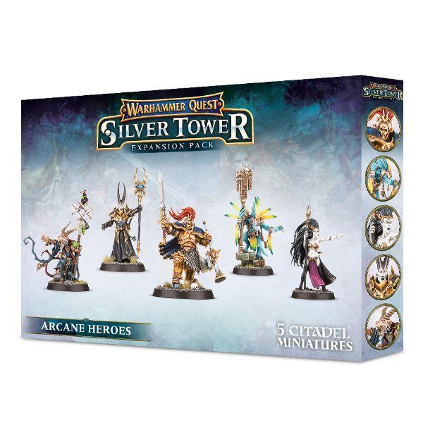 Warhammer Quest: Arcane Heroes. Коробка