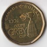 K6074, 2012, Канада, 1 доллар Кубок Грея 100 лет UNC
