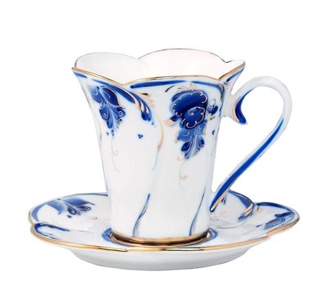 Чайная пара Пион (золото)