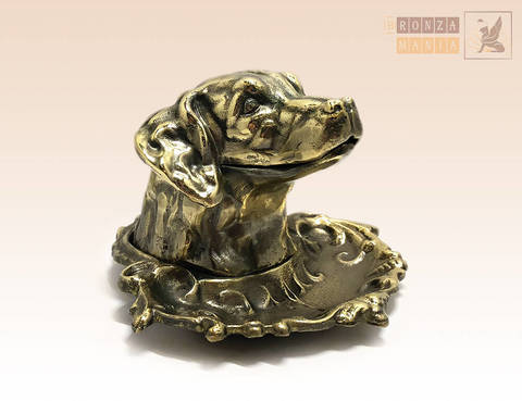 статуэтка Пепельница Собака