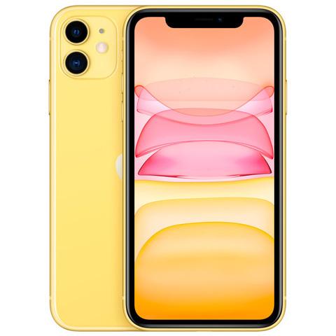 iPhone 11, 128 ГБ, желтый