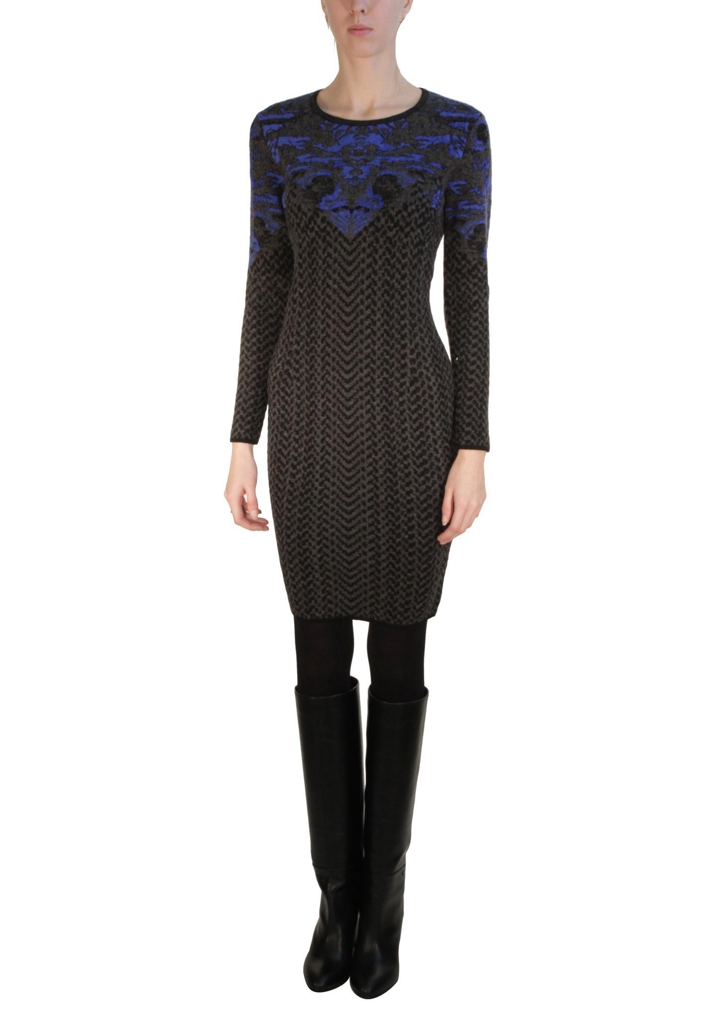 Платье из шерсти и вискозы D'EXTERIOR