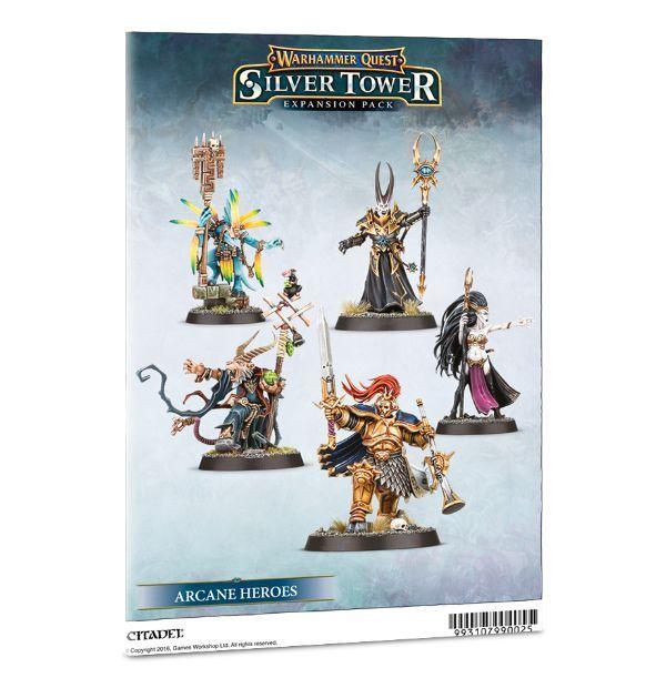 Warhammer Quest: Arcane Heroes. Буклет