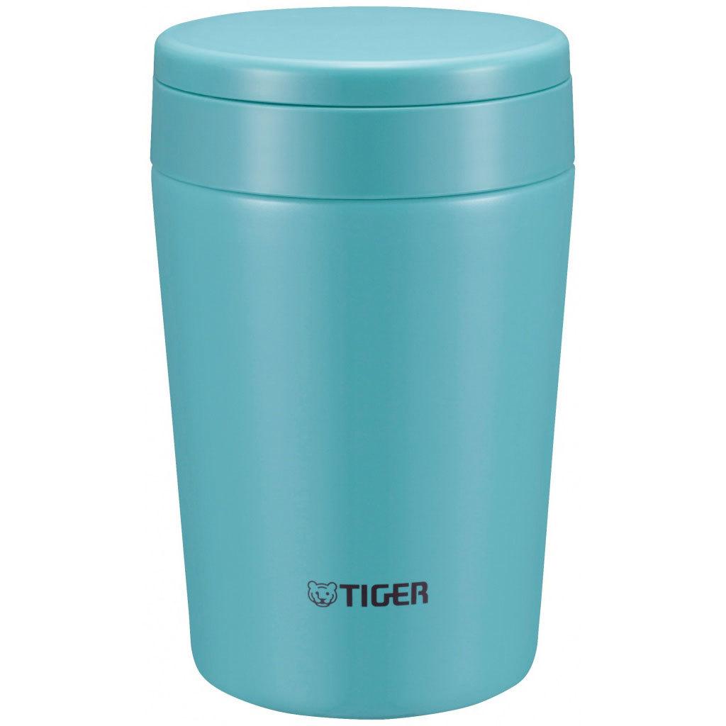Термос для еды Tiger MCL-A038 Mint Blue (0,38 л), мятно-голубой