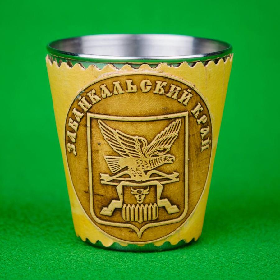 Стопка (металл) герб Забайкальского края