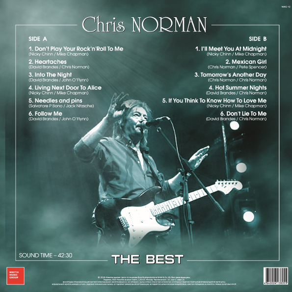 Chris norman i ll meet you at midnight