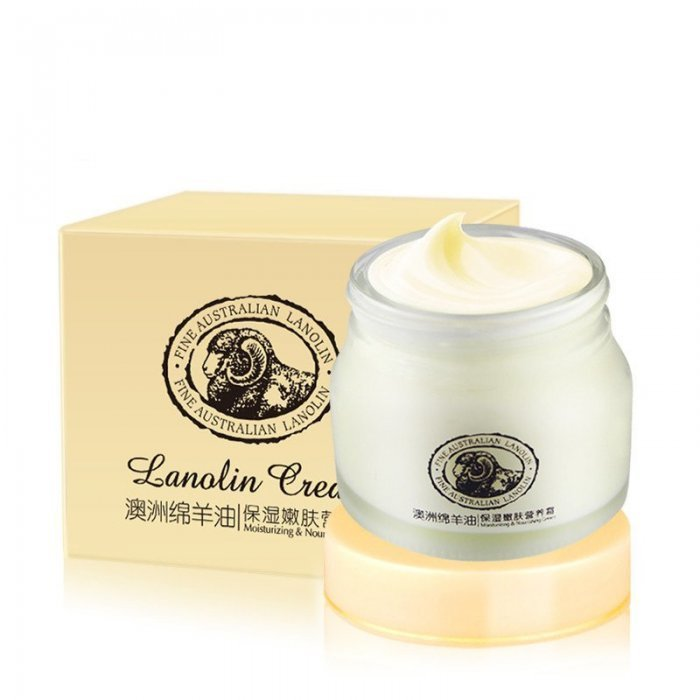 Laikou Крем для лица с ланолином Lanolin Cream, 90 г