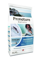 Корм для кошек, Pronature Holistic Grain Free Mediterranéa