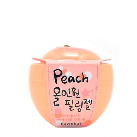 Гель-скатка персиковая все-в-одном Urban Dollkiss Peach All-in-one Peeling gel 100гр