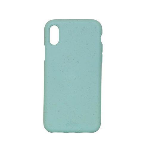 Чехол для телефона Pela iPhone XS зеленый Ocean Turquoise