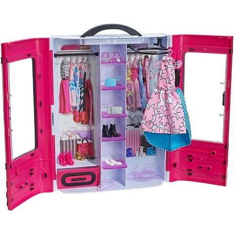 Барби Игровой набор Розовый Шкаф для одежды