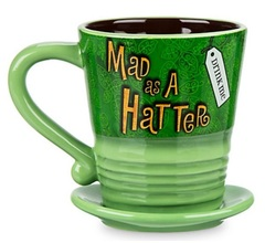 Алиса в стране Чудес кружка Безумный Шляпник — Alice In Wonderland Mug Cup Mad Hatter